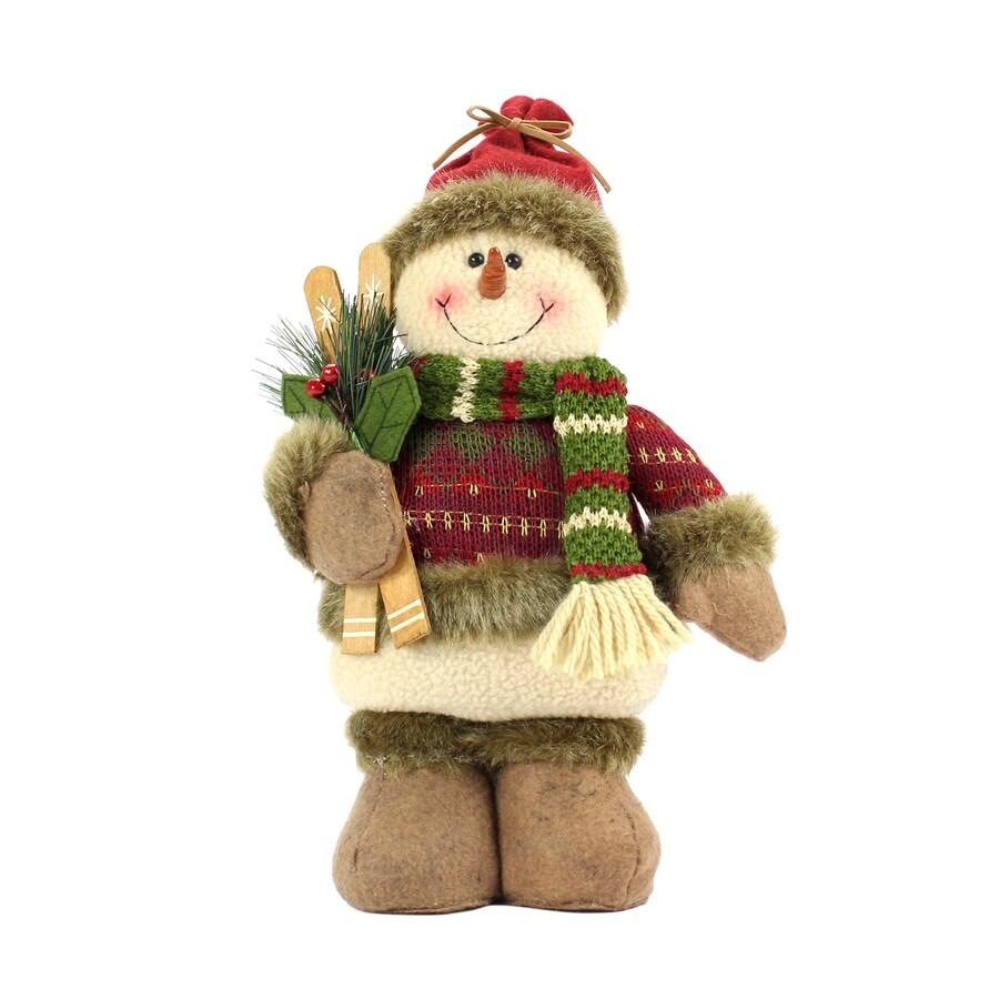 holiday living freestanding snowman indoor christmas decoration - Free Standing Christmas Decorations