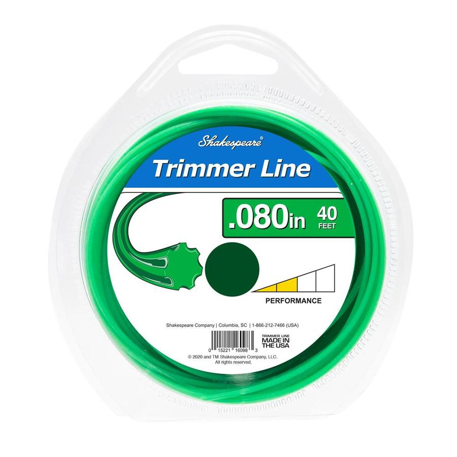 Shakespeare 40-ft Spool 0.08-in Spooled Trimmer Line