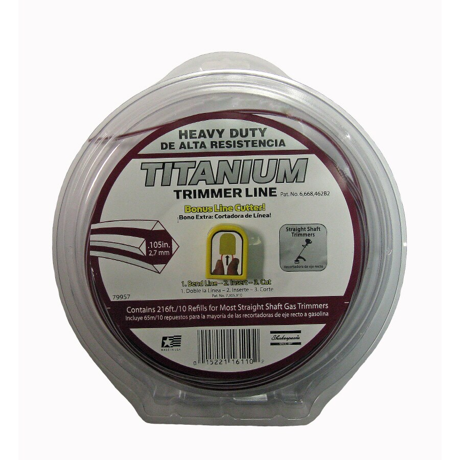 Shakespeare 180-ft Spool 0.105-in Trimmer Line