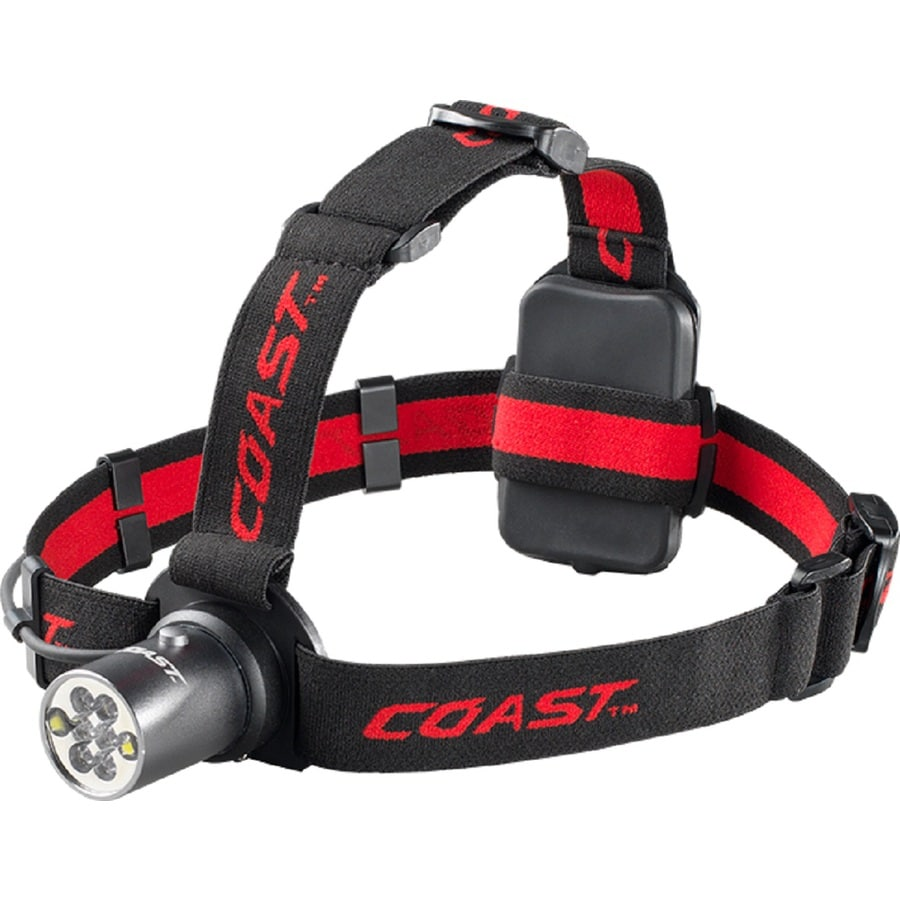 Coast 210-Lumen LED Headlamp Battery Flashlight (Battery Included)