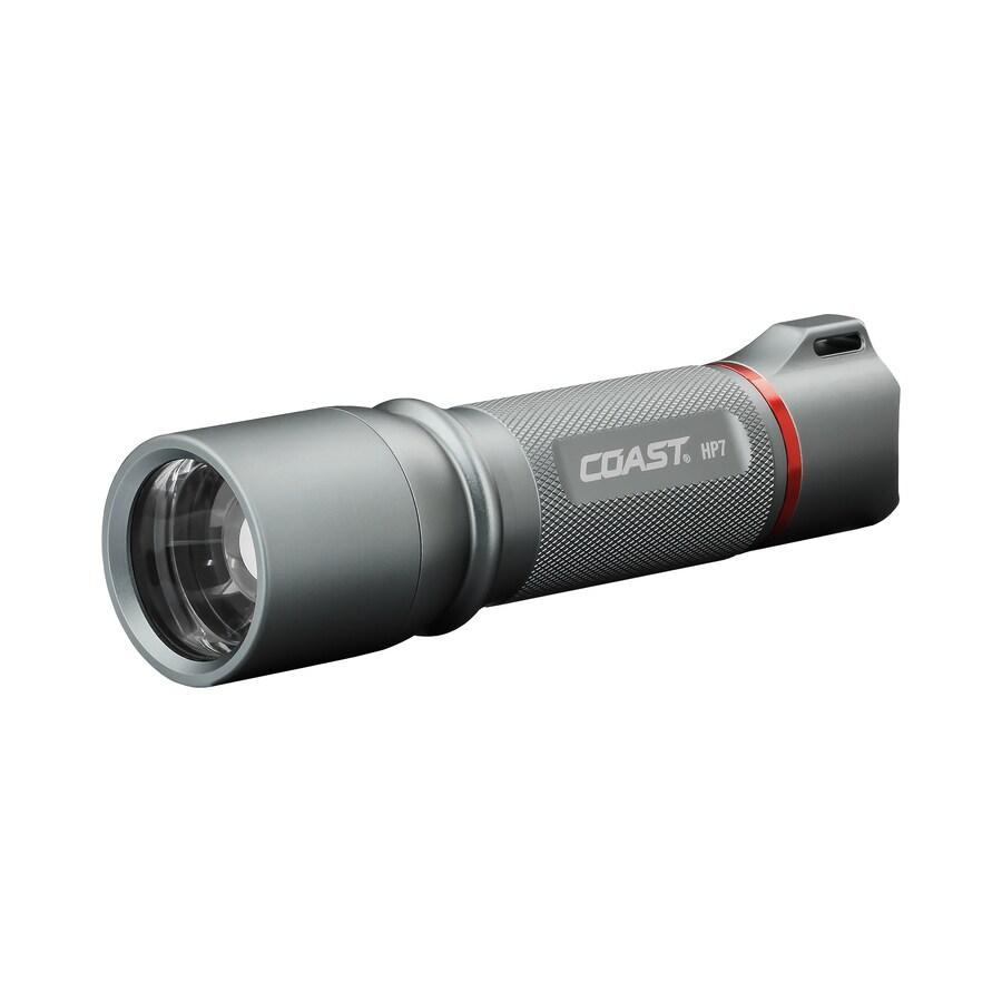 Coast 410 Lumens Led Handheld Battery Flashlight Battery Included