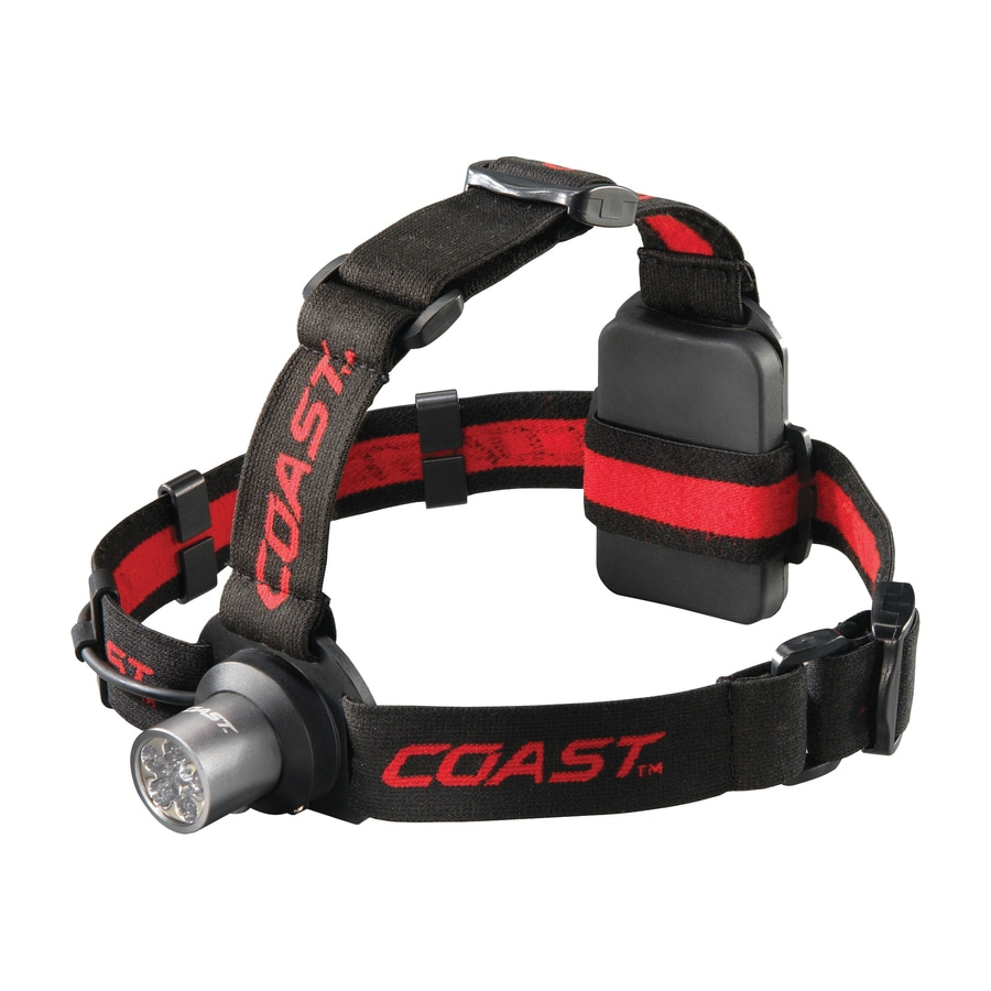 Coast 175 Lumens Led Headlamp Battery Flashlight Battery Included