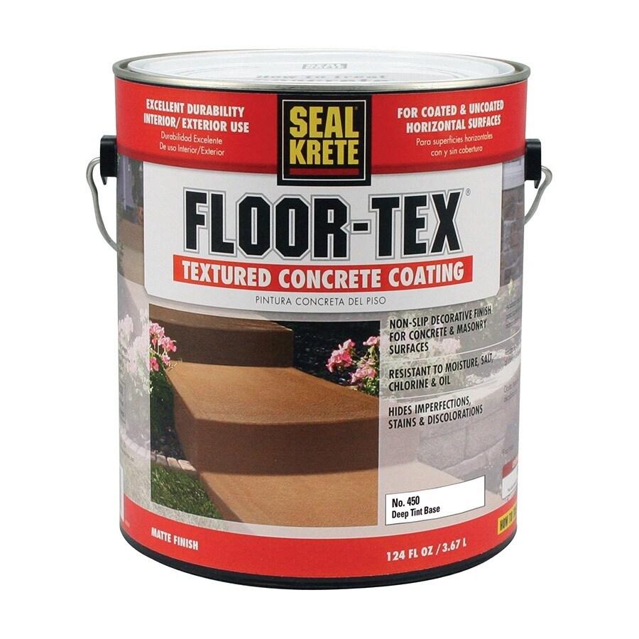 Shop Seal Krete Floor tex Textured Concrete Coating Tintable Matte