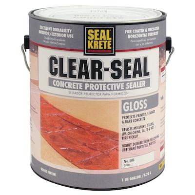 Seal-Krete Clear-Seal Concrete Protective Sealer 1-Part