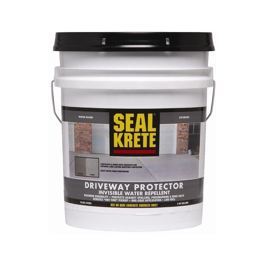 Seal-Krete 5-Gallon Driveway Concrete Stain Protector