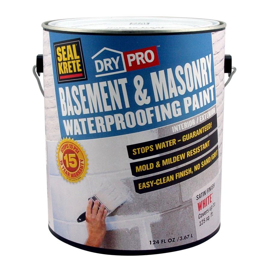 Seal-Krete Basement And Masonry Waterprooing Paint At