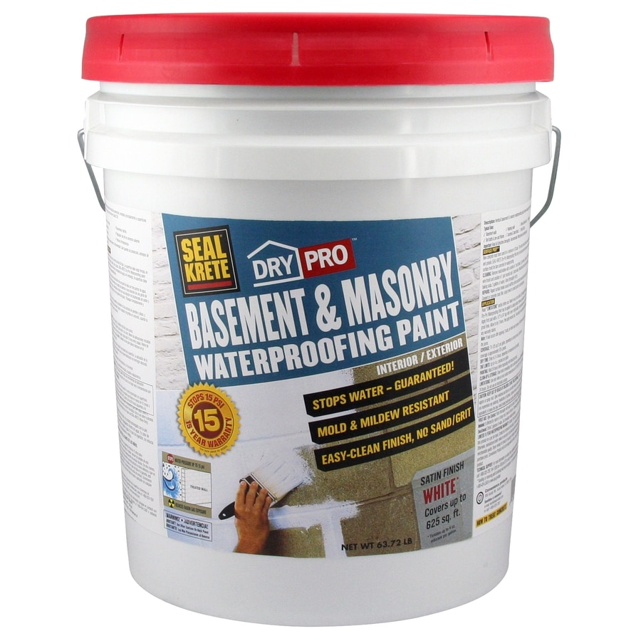 Seal Krete Basement And Masonry Waterprooing Paint