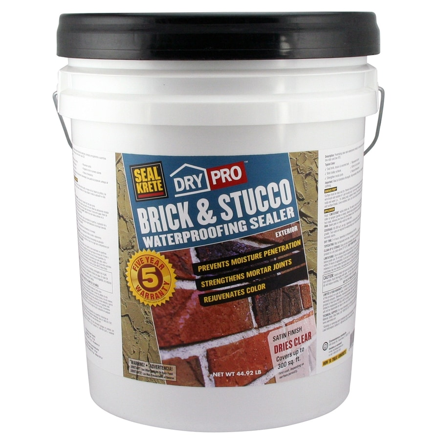 Seal-Krete Brick and Stucco Waterproofing Sealer