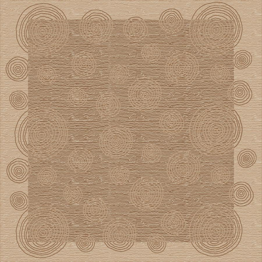 Milliken Wabi Multicolor Square Indoor Tufted Area Rug (Common: 8 x 8; Actual: 91-in W x 91-in L)