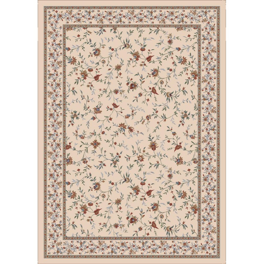 Milliken Hampshire Multicolor Rectangular Indoor Tufted Area Rug (Common: 8 x 11; Actual: 92-in W x 129-in L)
