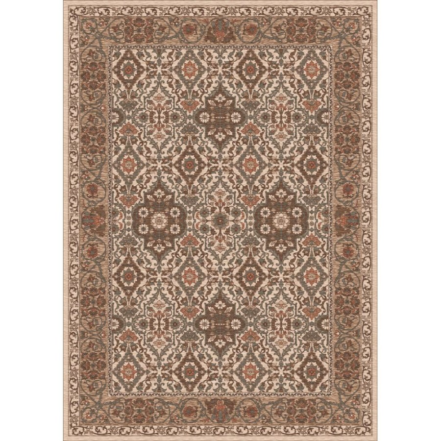 Milliken Sandakan Multicolor Rectangular Indoor Tufted Area Rug (Common: 8 x 11; Actual: 92-in W x 129-in L)