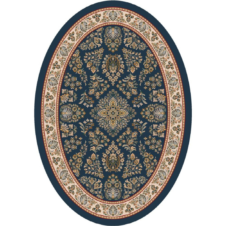 Shop Milliken Halkara Multicolor Oval Indoor Tufted Area