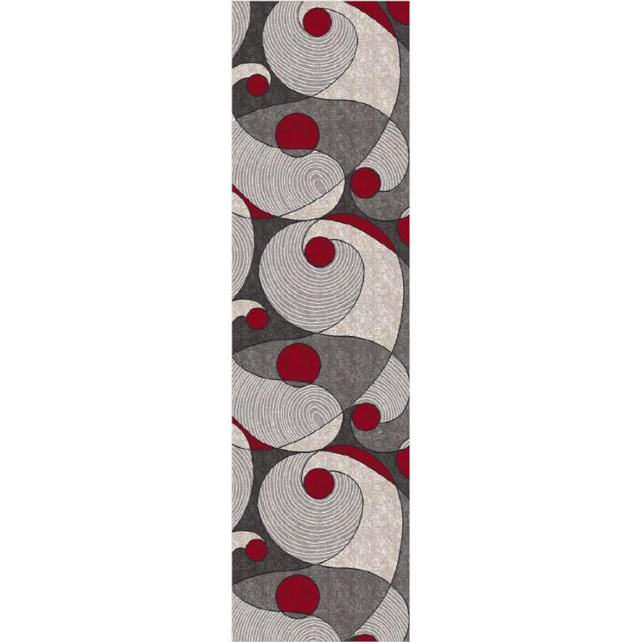 Milliken Remous Multicolor Rectangular Indoor Tufted Runner (Common: 2 x 8; Actual: 25-in W x 92-in L)