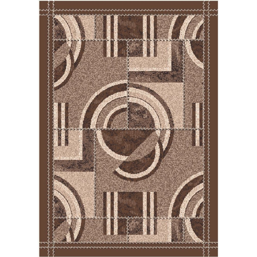 Milliken Modernes Multicolor Rectangular Indoor Tufted Throw Rug (Common: 3 x 4; Actual: 32-in W x 46-in L)