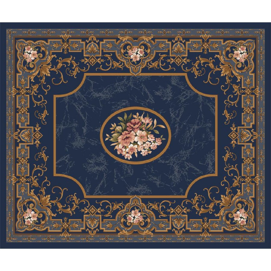 Milliken Montfluer Multicolor Rectangular Indoor Tufted Area Rug (Common: 10 x 13; Actual: 129-in W x 158-in L)