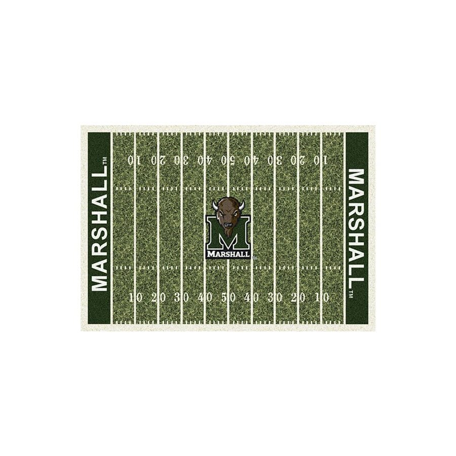 Milliken Rectangular Multicolor Sports Tufted Area Rug (Common: 8-ft x 10-ft; Actual: 7.66-ft x 10.75-ft)