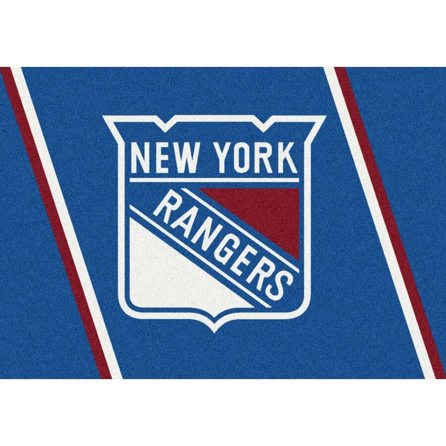 Milliken NHL Spirit Multicolor Rectangular Indoor Tufted Sports Throw Rug (Common: 3 x 4; Actual: 2.67-ft W x 3.83-ft L)