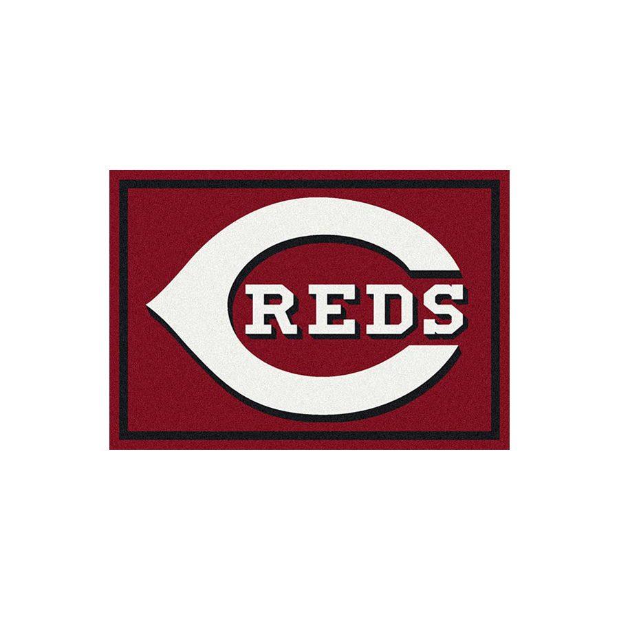 Milliken MLB Spirit Multicolor Rectangular Indoor Tufted Sports Area Rug (Common: 8 x 10; Actual: 92-in W x 129-in L)