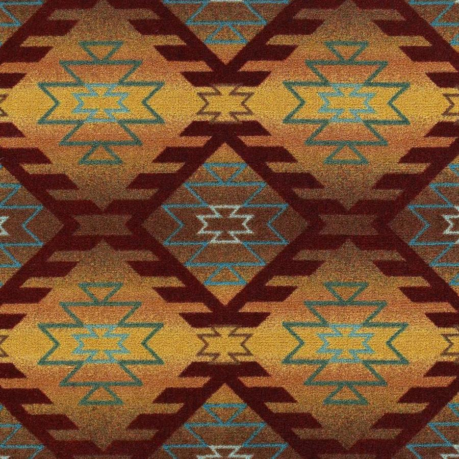 Joy Carpets Kaleidoscope Mesa Sunset Cut and Loop Indoor Carpet