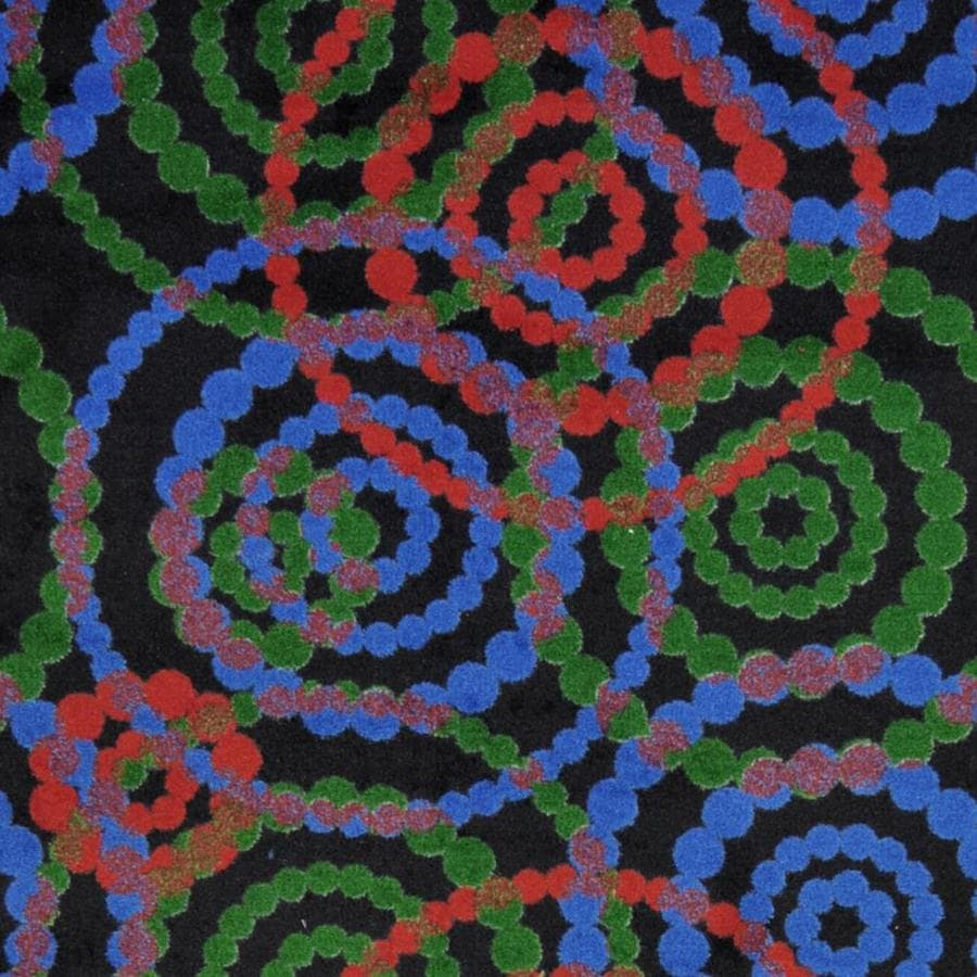 Joy Carpets Kaleidoscope Colors Cut and Loop Indoor Carpet