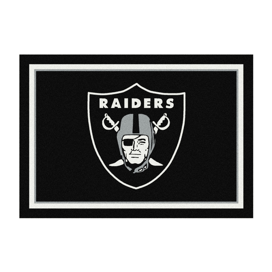 Milliken NFL Spirit Multicolor Rectangular Indoor Tufted Sports Area Rug (Common: 8 x 10; Actual: 7.67-ft W x 10.75-ft L)