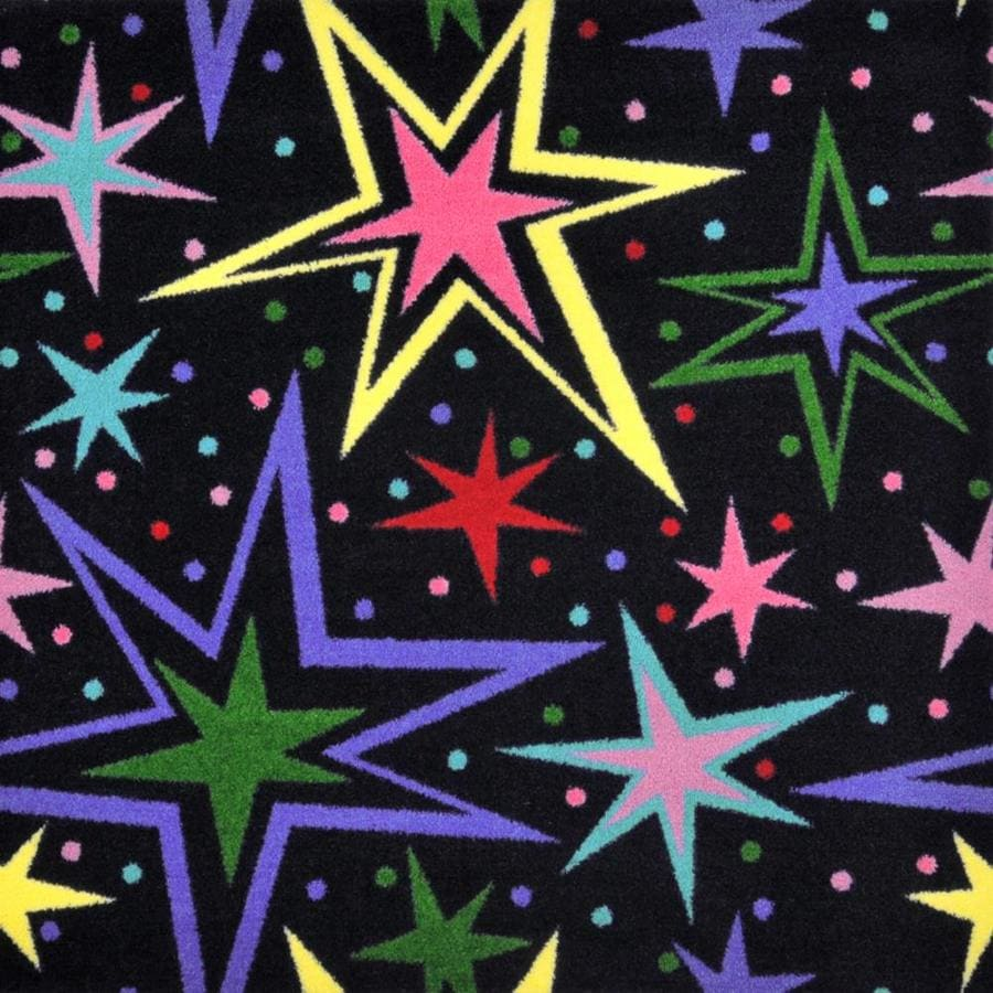 Joy Carpets Kaleidoscope Multicolor Interior Carpet