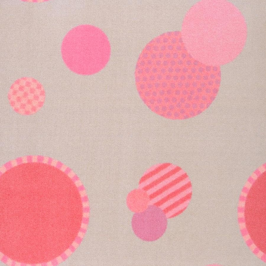 Joy Carpets Playful Patterns Pink Interior Carpet