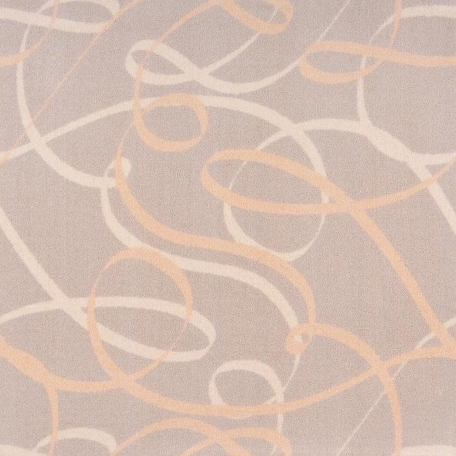 Joy Carpets Playful Patterns Beige Interior Carpet
