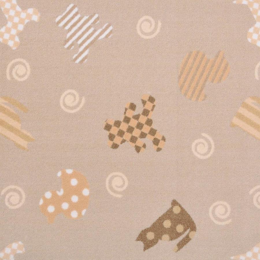 Joy Carpets Playful Patterns Beige Pattern Interior Carpet