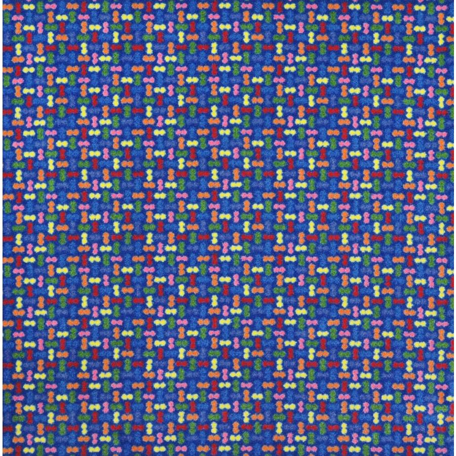 Joy Carpets Playful Patterns Primary Cut and Loop Indoor Carpet