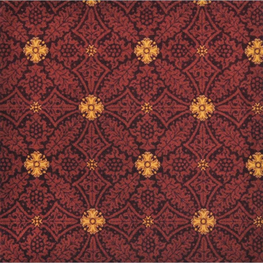 Joy Carpets Any Day Matinee Burgundy Interior Carpet