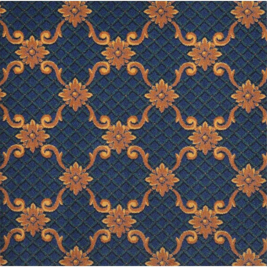 Joy Carpets Any Day Matinee Teal Interior Carpet
