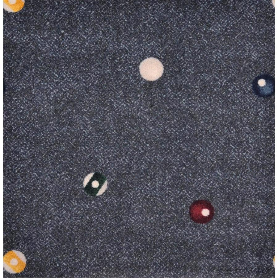 Joy Carpets Games People Play Charcoal Cut and Loop Indoor Carpet