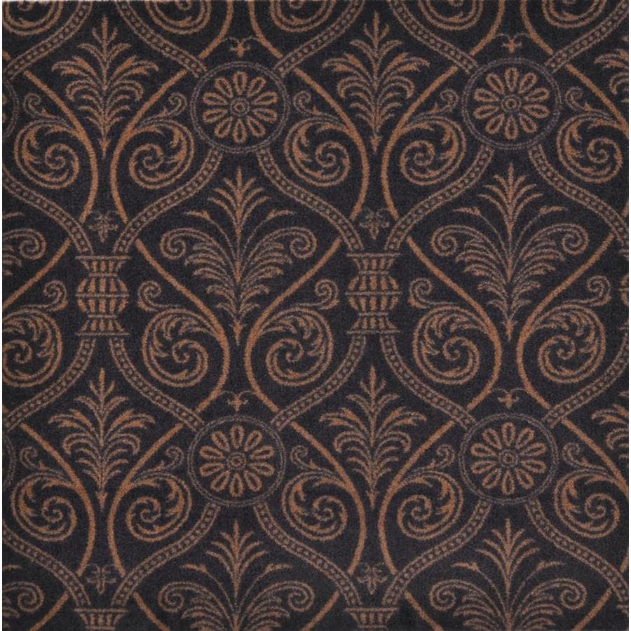 Joy Carpets Any Day Matinee Brown Cut and Loop Indoor Carpet