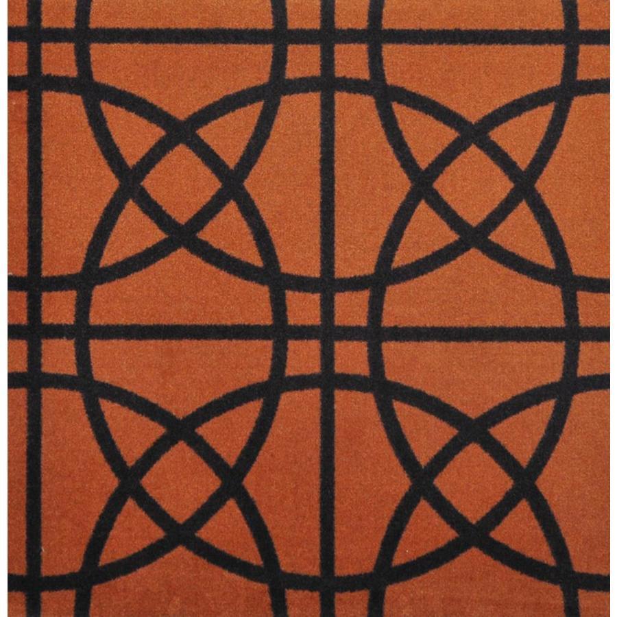 Joy Carpets Sports Fan Orange Interior Carpet