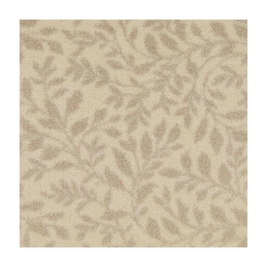 STAINMASTER Natural Breeze Ivory Saxony Carpet