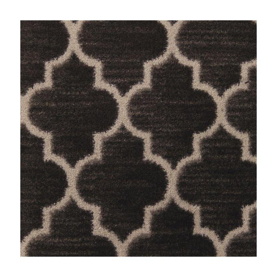 STAINMASTER Classic Grace Modern Black Plush Interior Carpet