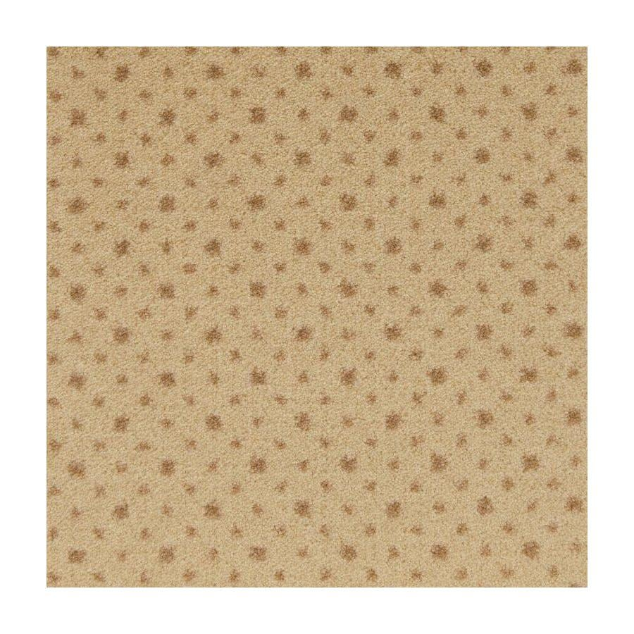 STAINMASTER Active Family to The Point Buttercream Plush Interior Carpet