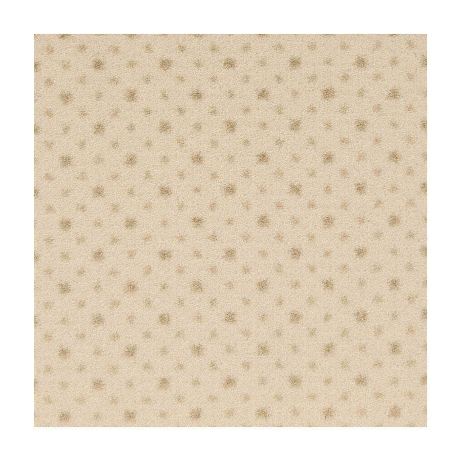 STAINMASTER Active Family to the Point 13.5-ft W x Cut-to-Length Pearl Plush Interior Carpet