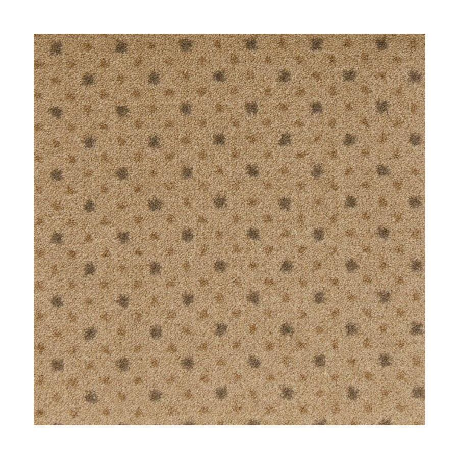 STAINMASTER Active Family to The Point Beige Plush Interior Carpet