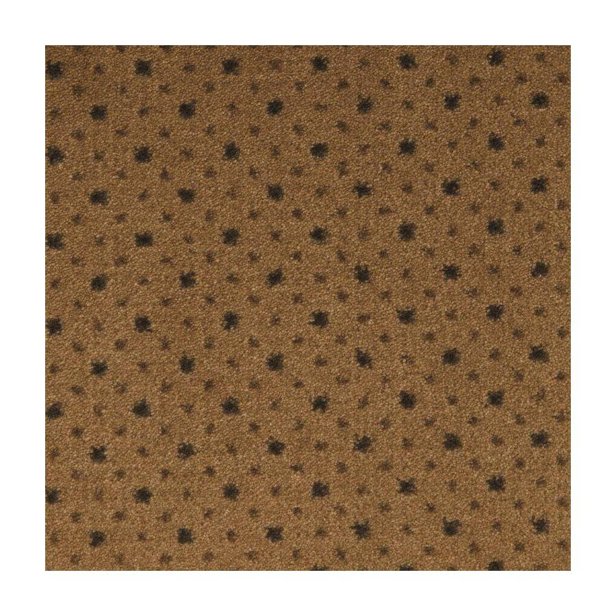 STAINMASTER Active Family to The Point Tobacco Brown Plush Interior Carpet