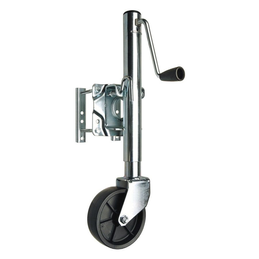 reese 1000 lb capacity side wind trailer jack at lowesforpros com