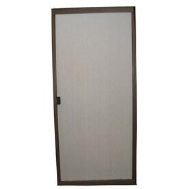 RITESCREEN Steel Sliding Screen Door (Common: 36 In X 80 In;