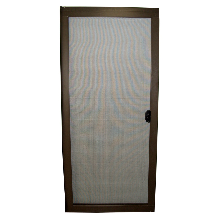 RITESCREEN Aluminum Sliding Screen Door (Common: 36-in x 80-in; Actual: 36-in x 80.125-in)
