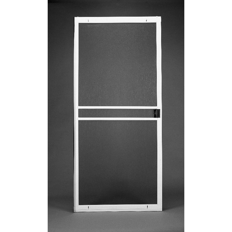 High Quality RITESCREEN Steel Sliding Screen Door (Common: 30 In X 80 In;