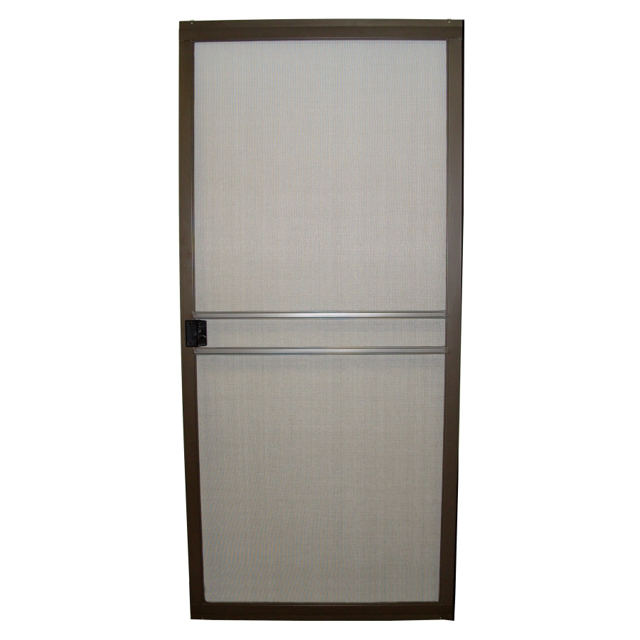 Sliding Screen Door Replacement shop ritescreen steel sliding screen door (common: 30-in x 80-in