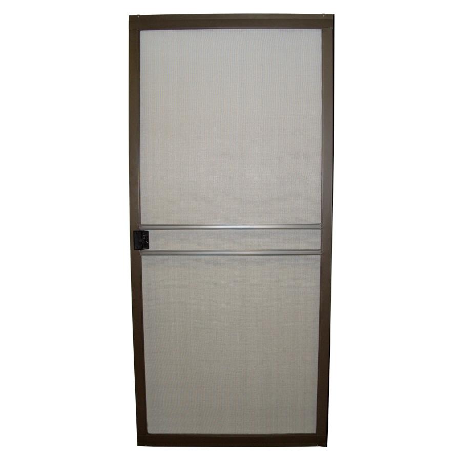 ritescreen steel sliding screen door common 36 in x 80 in actual