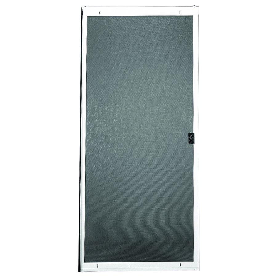 RITESCREEN Steel Sliding Screen Door (Common: 48-in x 80-in; Actual: 48-in x 80.125-in)
