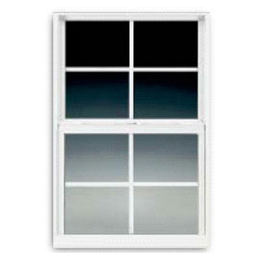 BetterBilt 3000TX Aluminum Double Pane Single Strength Single Hung Window (Rough Opening: 36-in x 36-in; Actual: 35.375-in x 35.5625-in)