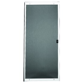RITESCREEN Steel Sliding Screen Door (Common: 30 In X 80 In;